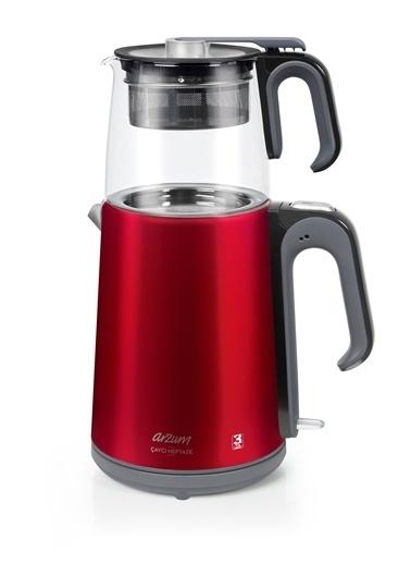 Arzum  Ar3044 Çaycı Heptaze Çay Makinesi - Cam Renkli
